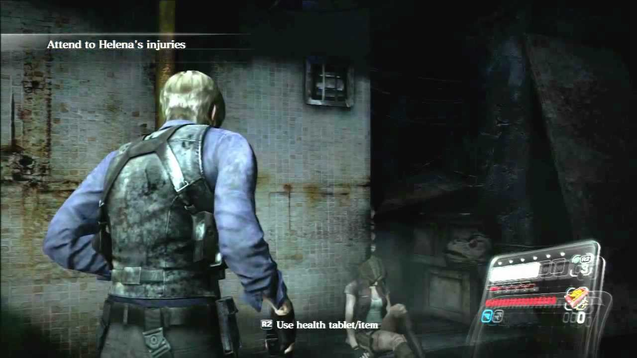 Hd Biohazard 6 Resident Evil 6 Gameplay Game Start