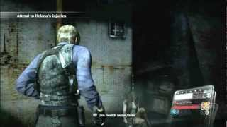 [HD] Biohazard 6 / Resident Evil 6 - Gameplay - Game Start / Chapter 0 - Leon & Helena - 1/8 (PS3)