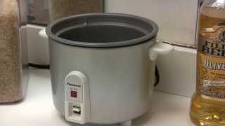 Panasonic SR-3NA Rice Cooker -1 to 2.5 Cup- How to Use - Review