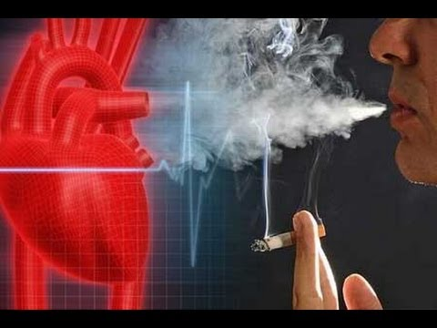 Сердце болит после сигарет