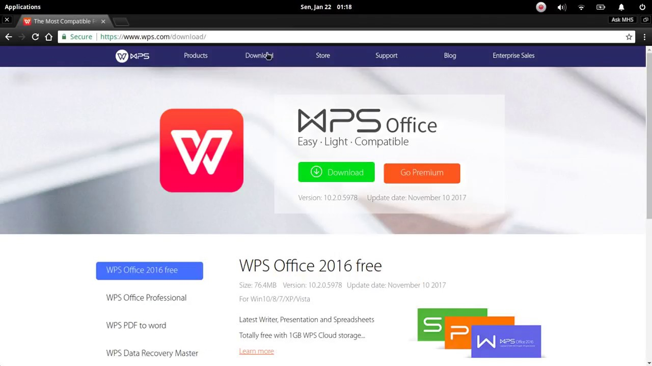 How To Install WPS Office (Kingsoft Office) in elementaryOS Loki 0 4 1