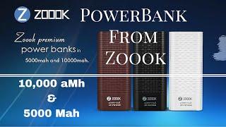 [Hindi - ??????] Zoook Power Bank Review 5000 mah and 10000 Mah