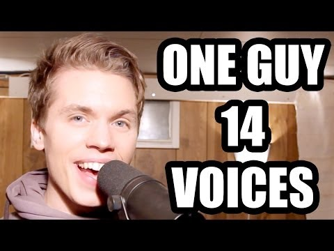 One Guy, 14 Voices