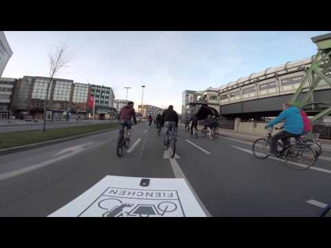 Critical Mass Wuppertal - April 2016