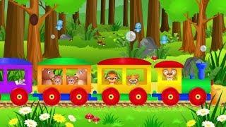 Jedzie pociąg - bajka dla dzieci z muzyką