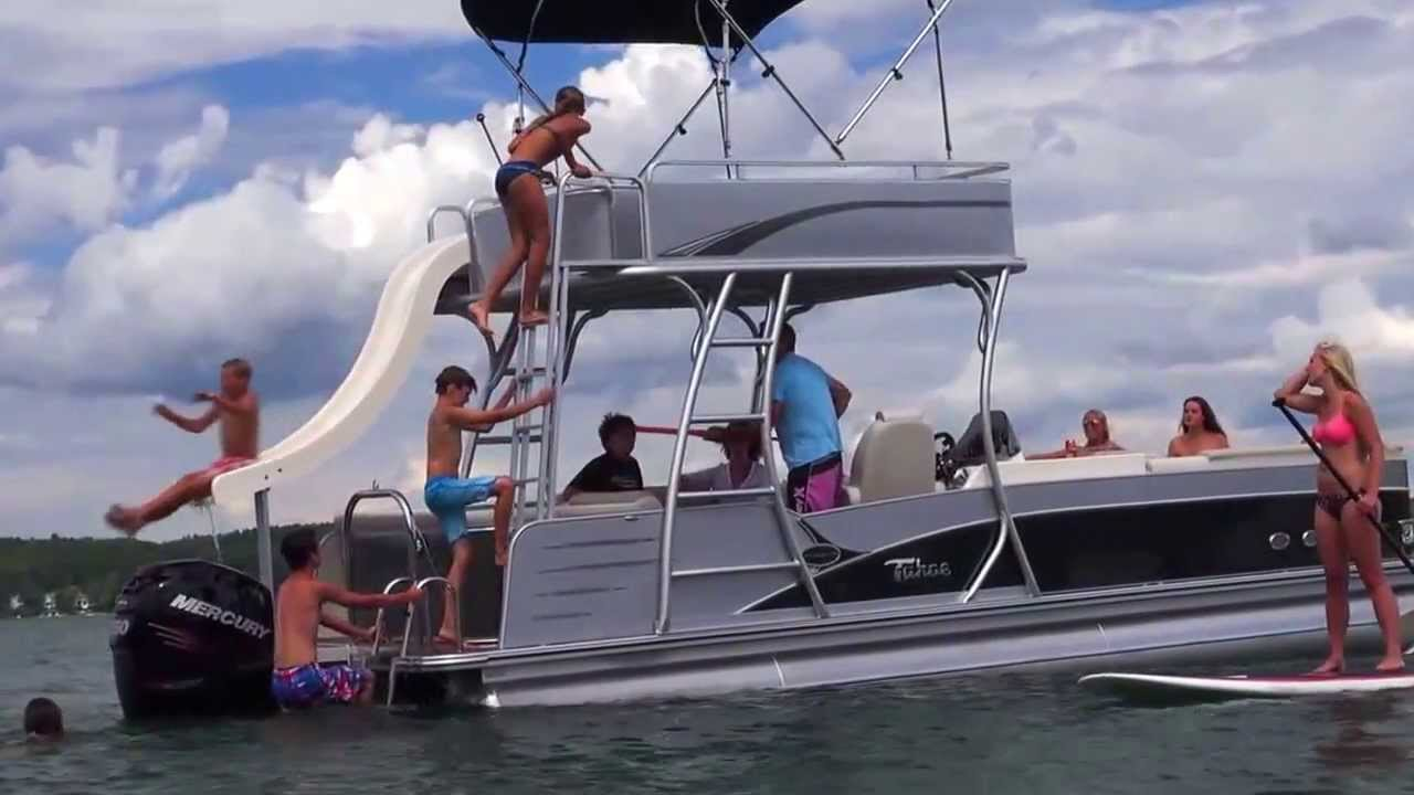 2014 Pontoon Boats Avalon Paradise Funship Avalon