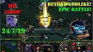 ★DoTa Rikimaru - GamePlay / Guide★KDA: 24/7/19! Beyond Godlike! Epic Battle!★