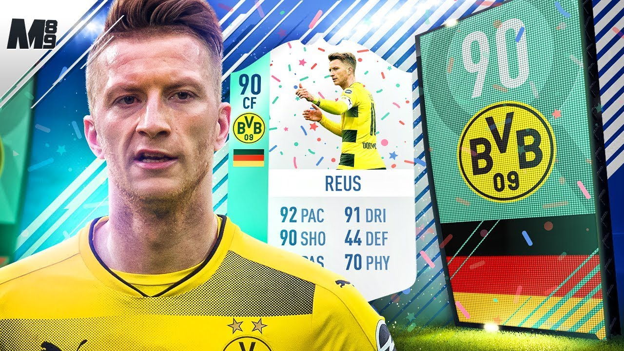 Fifa 18 fut birthday reus review 90 reus player review for Deco 90 fut 18