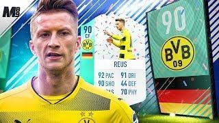FIFA 18 FUT BIRTHDAY REUS REVIEW | 90 REUS PLAYER REVIEW | FIFA 18 ULTIMATE TEAM