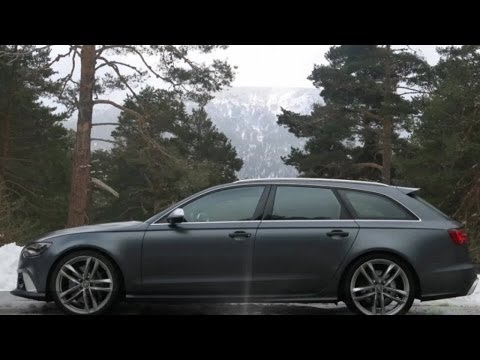 Audi RS6 Avant - Prueba en Portalcoches