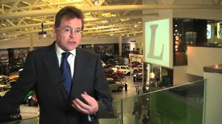 WORKING WITH ALUMINIUM:  CHIEF ENGINEER, MARK WHITE, JAGUAR LAND ROVER