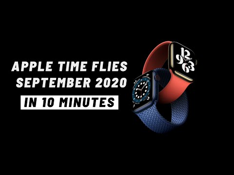 Apple September 2020 Event in 10 minutes