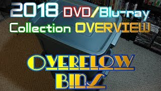 2018 DVD/Blu-ray Collection Overview 29 - DVD Overflow Bins