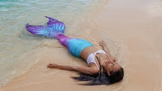 MY FIRST MERMAID TAIL | Finfolk Andromeda Review