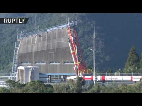 Japan's launch of world's smallest space rocket ends in failure