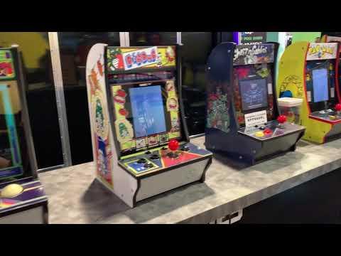 Arcade1Up Booth Walkthru - CES 2019