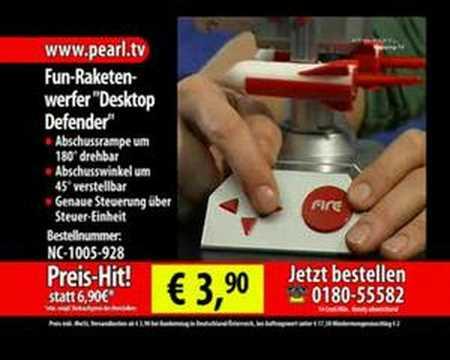 "Fun-Raketenwerfer ""Desktop Defender"""