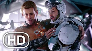 Iron Man Saves Captain America In Space Scene HD - Marvel's Avengers