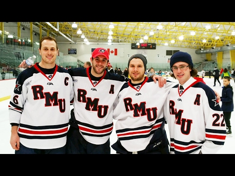RMU Men's Hockey 2017 Senior Video