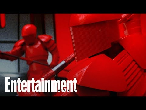 Star Wars The Last Jedi First Look: Praetorian Guard | Story Behind The Story | Entertainment Weekly