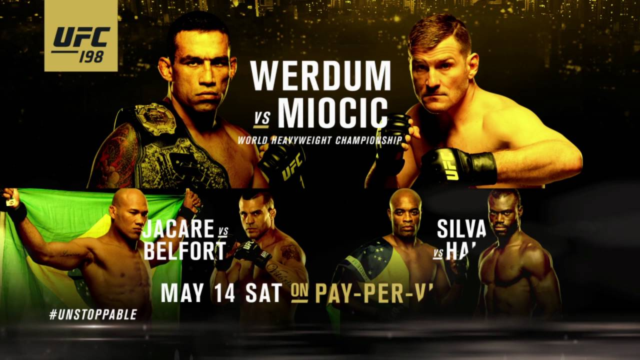 UFC 198: Werdum vs Miocic - Extended Preview - YouTube on