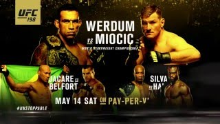UFC 198: Werdum vs Miocic - Extended Preview