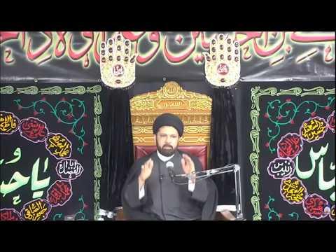 Majlis-e-Aza 6th Muharram 1439 At Imam Al-Khoei Foundation NY 9-27-2017 Maulana Mehboob Mehdi