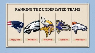 Best Undefeated Team: Broncos or Patriots? | Move the Sticks | NFL