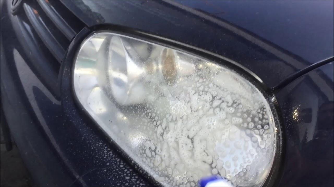 euro universal clean auto scheinwerfer reinigen youtube