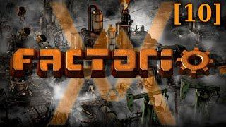 Прохождение Factorio 1.0 - Рельсовый мир [10] - Синяя наука