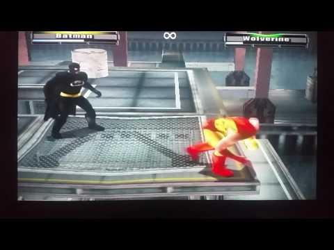 Batman vs. Wolverine in a Harbor Match