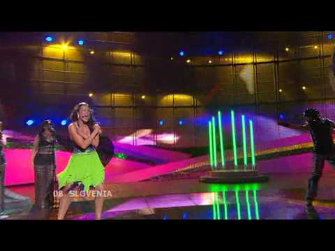 Eurovision 2008 Semi Final 1 08 Slovenia *Rebeka Dremelj* *Vrag Naj Vzame* 16:9 HQ