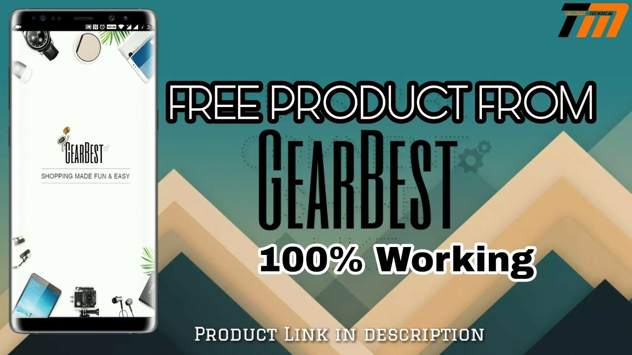 How Get Free Product From GEARBEST ..(Working 100%)
