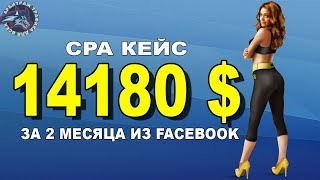 Мощный CPA кейс на 14200$ из Facebook. Арбитраж трафика.