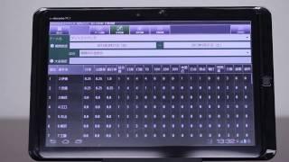 野球デジタルスコアブック「ばちこい」〜成績の表示〜