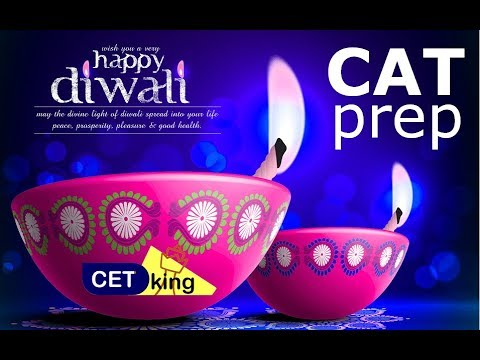 Lets make CAT prep during Diwali awesome. prep tips during festival.