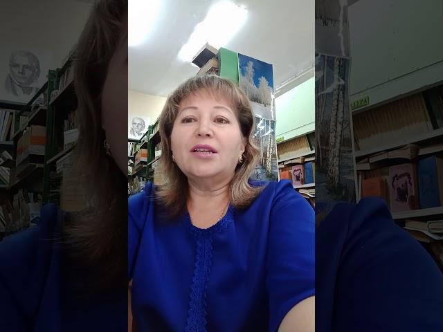 Изображение предпросмотра прочтения – ВалентинаДобрыдина читает произведение «Отговорила роща золотая» С.А.Есенина