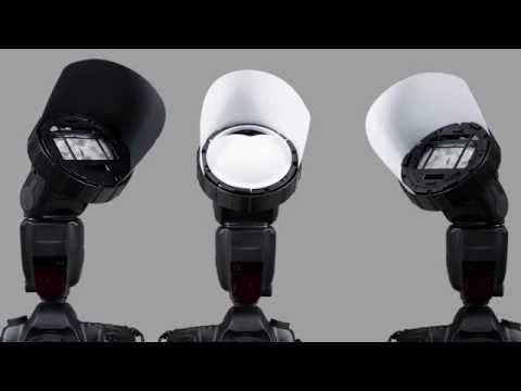 SpinLight 360 Modular System: A New Unique Speedlight Flash Modifier