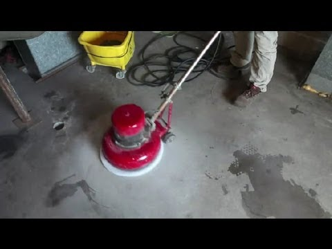 How to clean seal concrete floors concrete floors for Mop for concrete floors