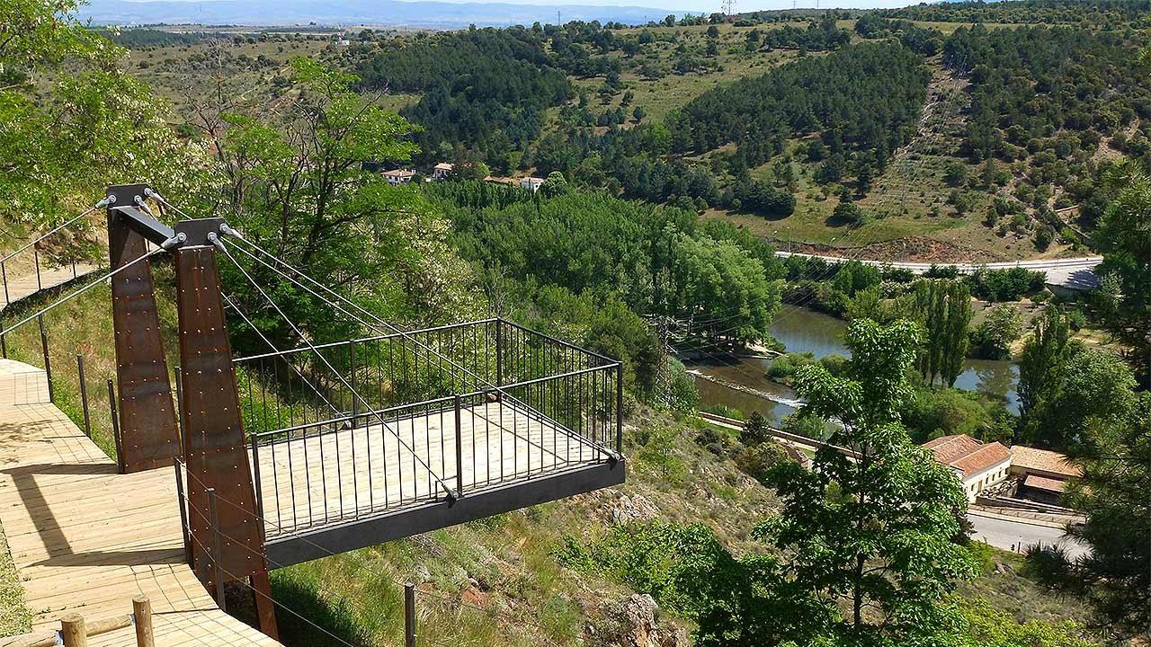 Parque del Castillo en Soria - YouTube