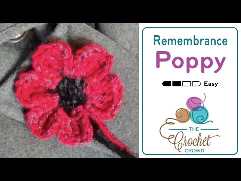 Crochet Poppy Youtube