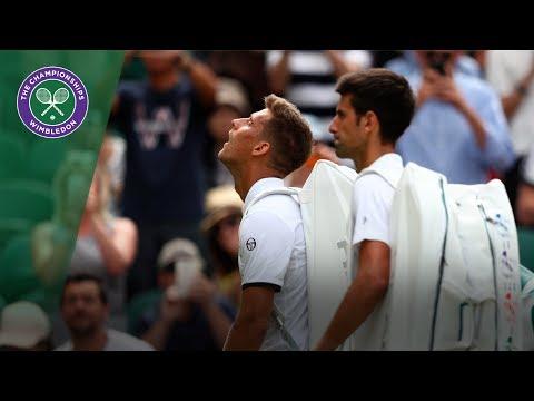 Novak Djokovic progresses to Wimbledon 2017 second round after Klizan retirement