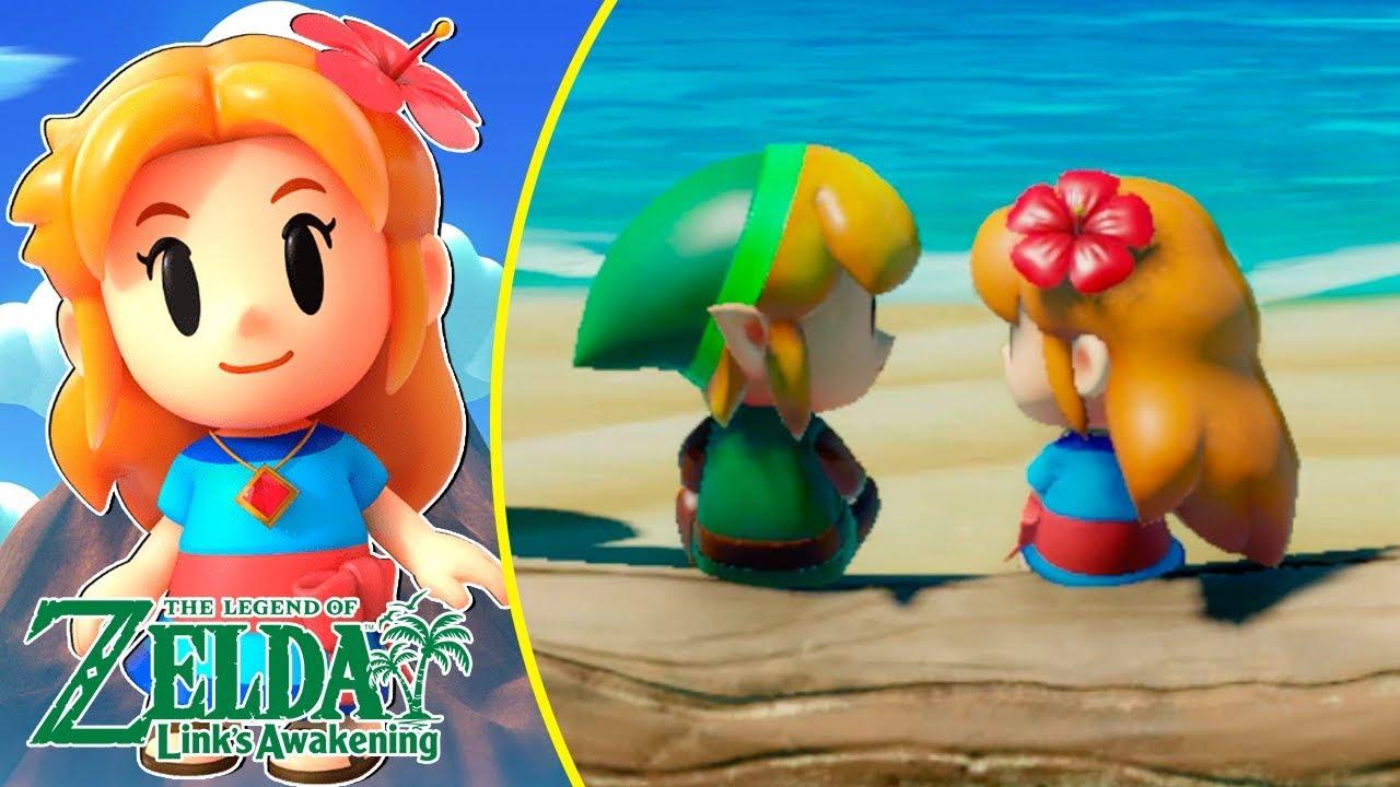 Zelda Link S Awakening Gameplay Espanol Parte 5 El Amor De Marin Y Link Nintendo Switch