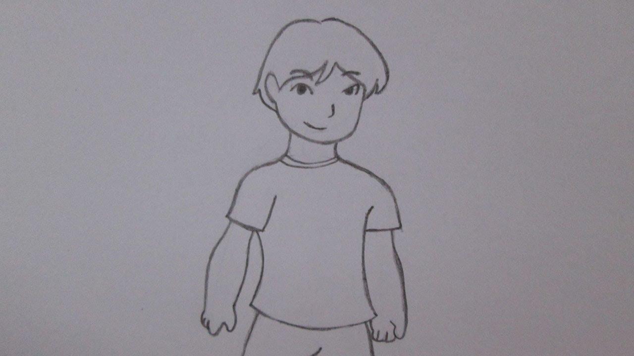 Como Desenhar Um Garoto