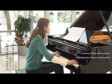 Anna Sutyagina plays Early January by Louis Anthony deLise