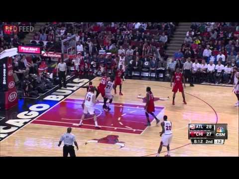 Atlanta Hawks vs Chicago Bulls - Full Game Highlights - April 15, 2015 - NBA 2014-15 Season