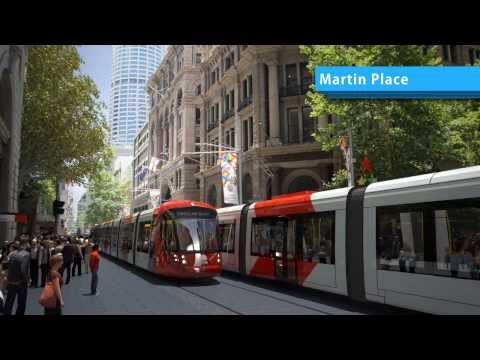 CBD And South East Light Rail Flythrough