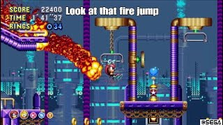 Sonic Mania Plus: Encore Oil Ocean Zone Acts 1 and 2