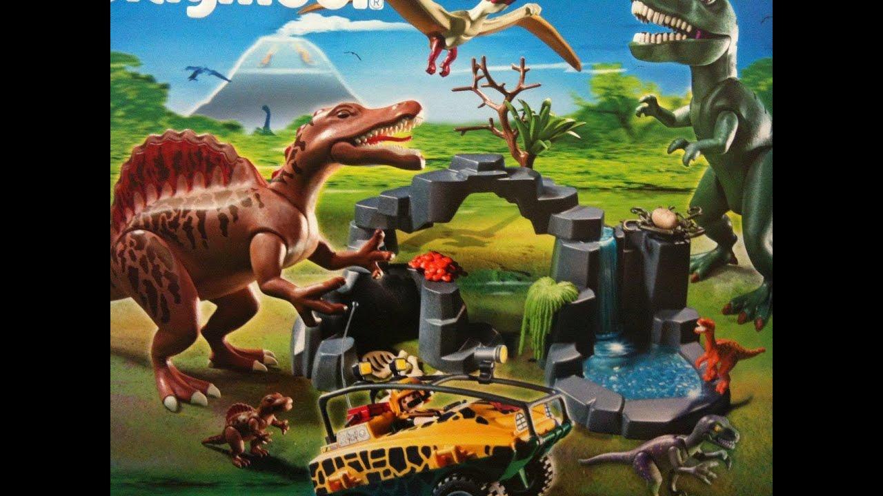 Playmobil dinosaure youtube for Playmobil dinosaurios