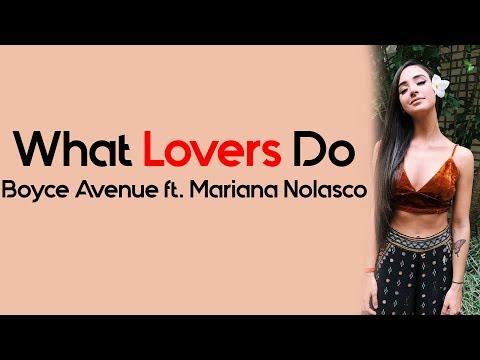 What Lovers Do - Maroon 5 (Boyce Avenue ft. Mariana Nolasco acoustic cover) [Full HD] lyrics